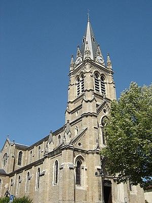 Saint-Didier-au-Mont-d'Or - The church in Saint-Didier-au-Mont-d'Or