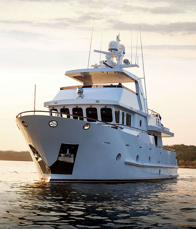 Steel Expedition Yachts : File steel expedition yacht bering g wikimedia