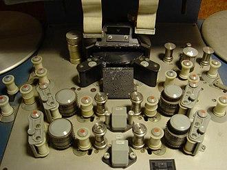 Steenbeck - Steenbeck film editing machine rollers