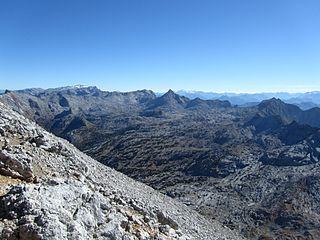 Steinernes Meer mountain range