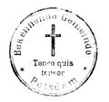 Stempel Bekennende Gemeinde Potsdam, circa 1945.png