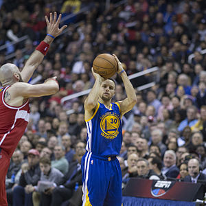 Bandwagon effect - Stephen Curry, two-time NBA MVP (2014/15 - 2015/16)