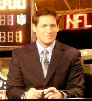 Steve Young - Young at ESPN's broadcast set   for the 2009 NFL Draft