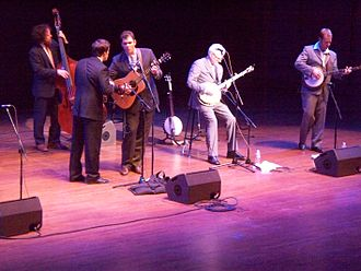 Steep Canyon Rangers - Steve Martin playing with the Steep Canyon Rangers in Seattle.