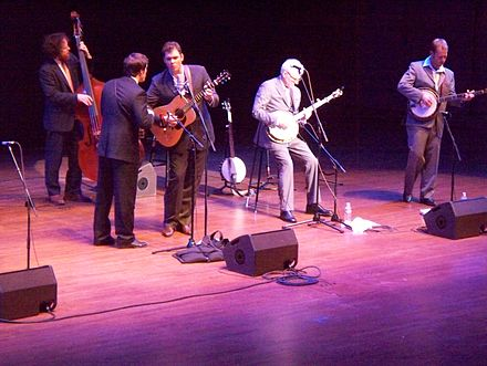 Martin playing with the Steep Canyon Rangers in Seattle in November 2009 Steve Martin & The Steep Canyon Rangers in Seattle.JPG