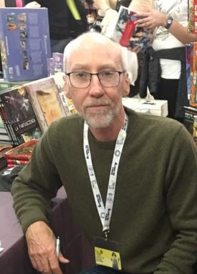 Picture of an author: Steven Erikson