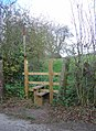 Stile near Grasscroft Farm - geograph.org.uk - 616570.jpg