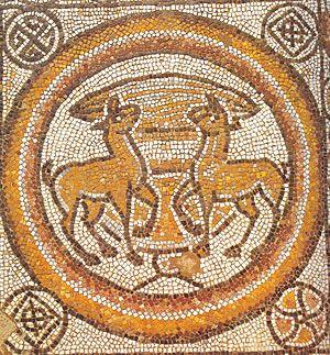 Stobi - Mosaic at Stobi