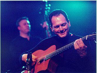 Gypsy jazz - Stochelo Rosenberg performing with the Rosenberg Trio in the Netherlands in 2002
