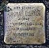 Stolperstein Eichborndamm 238 (Wittn) Dagmar Ullrich.jpg