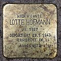Stolperstein Helmstedter Str 27 (Wilmd) Lotte Hofmann.jpg