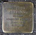 Stolperstein Invalidenstr 156 (Mitte) Max Riess.jpg