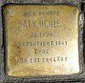 Stolperstein Köln Weidengasse 30 Saly Henle.jpg