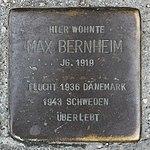 Stolperstein Max Bernheim Müllheim.jpg
