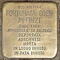 Stolperstein für Fortunata Coen In Finzi (Rom).jpg