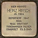Stolperstein für Heinz Hirsch (Kiel).jpg
