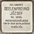 Stolperstein für Jozsef Seelenfreund (Szeged).jpg