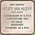 Stolperstein für Meijer Van Kleeff (Leiden).jpg