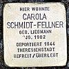 Stolperstein marienstr 9 schmidt-fellner carola