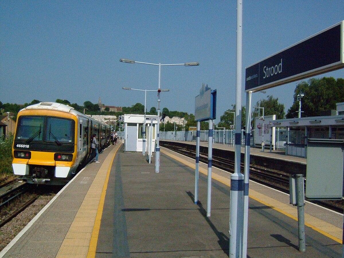 Strood railway station...