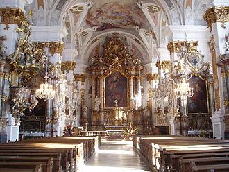 Dillingen an der Donau - The Church of the Jesuit University of Dillingen (Donau)