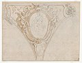 Studies for the trompe-l'oeil decorations of Palazzo Ducale (Palazzo Pitti), Florence MET DP870433.jpg
