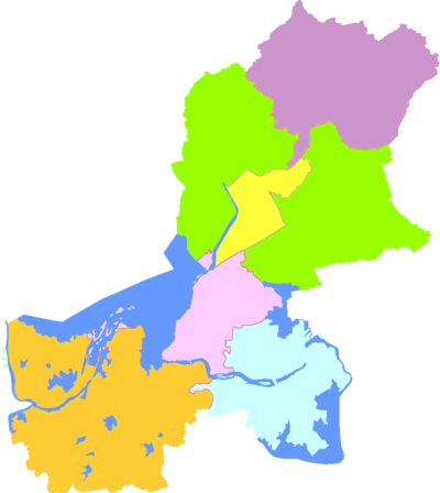 Subdivisions of Huai'an, China.png