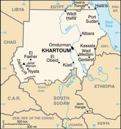 List Of Airports In Sudan Wikipedia - Wad madani map