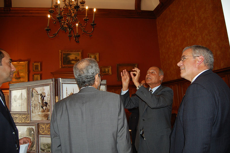 File:Sudan Envoy - Egyptian Foreign Minister Gheit and SE Gration.jpg