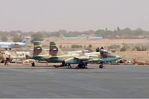 Sudanese Air Force - Sudan Air Force Sukhoi Su-25