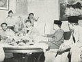 Sudirman talking with Sukarno, Kota Jogjakarta 200 Tahun, plate after page 80.jpg