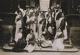"Mary Phillips (suffragette) - ""Ye Mauna Tramp on the Scotch Thistle Laddie"""