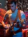 Sufjan Stevens playing banjo (cropped).jpg