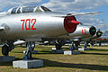 Sukhoi Su-7 line-up at Deblin Museum (13310351173).jpg