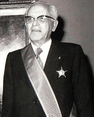 Suleiman Frangieh - Suleiman Frangieh's Presidential portrait, 1970.