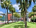 Suncorp Stadium, Caxton Street facade, Brisbane 05.jpg