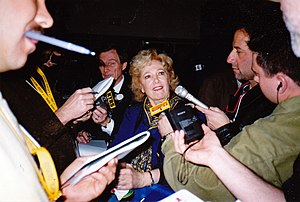 Georgia Frontiere - At Super Bowl XXXIV