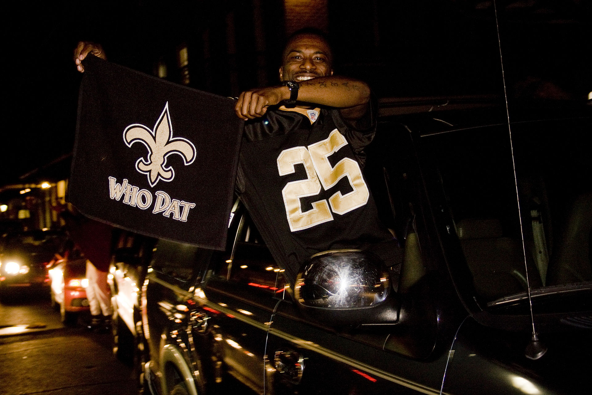 New Orleans Saints Football Party Food