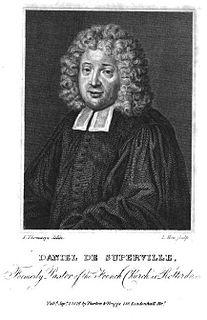 Daniel de Superville (1657–1728) Dutch theologian