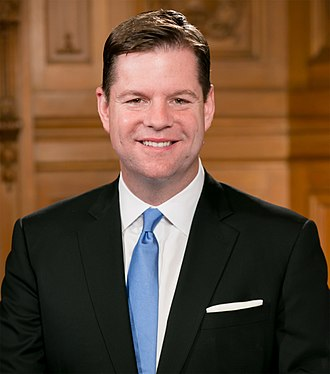 Mark Farrell (politician) - Image: Supervisor Mark Farrell