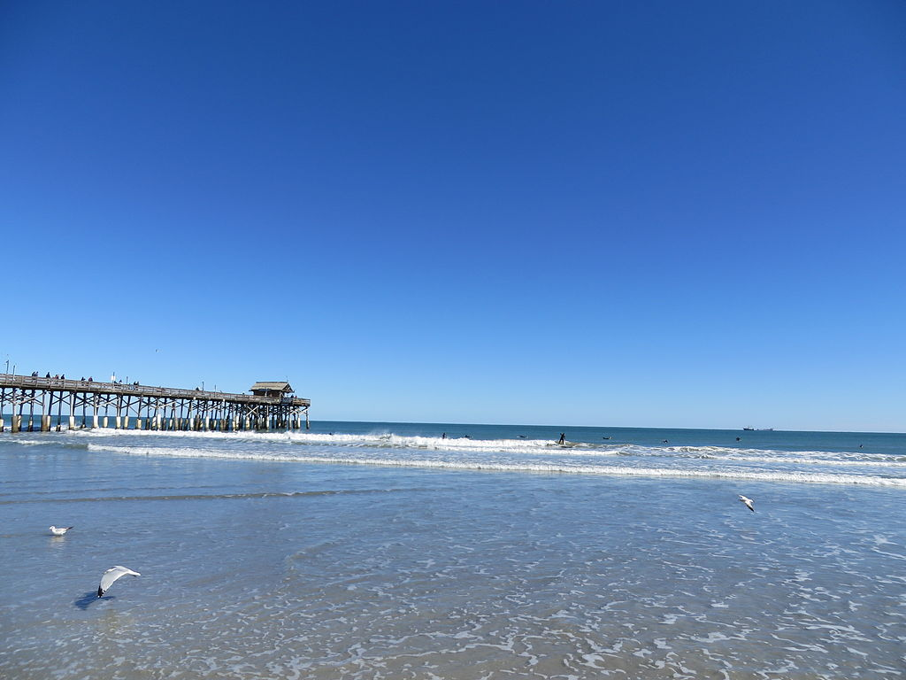 Cocoa Beach Florida Beach