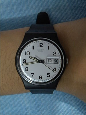 Nicolas Hayek - Swatch Once Again watch