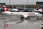 Swiss, HB-JCG, Bombardier CS300 (40139739241).jpg