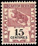 Switzerland Bern 1903 revenue 15c - 59A.jpg