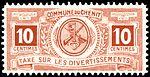 Switzerland Le Chenit revenue 10c - 1.jpg