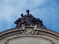 Symbol of the Hungarian National Bank by József Róna, 2016 Budapest.jpg