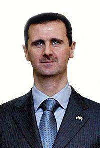 Presidente Bashar al-Assad.