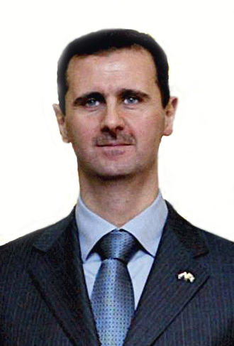 2007 Syrian presidential election - Image: Syria.Bashar Al Assad.01