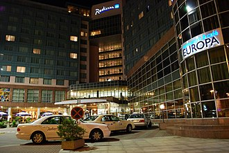 Radisson Hotels - Radisson Blu hotel in the center of the city of Szczecin, Poland