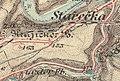Třebíč Borovina 2 map from year 1877.jpg